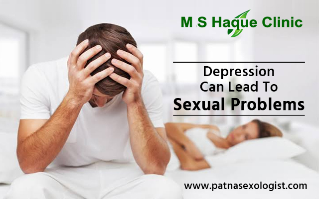 Depression Can Lead To Sexual Problems