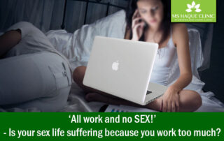 'All work and no SEX!'- Is your sex life suffering because you work too much?